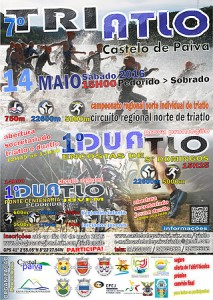 Cartaz 7º Triatlo Cast Paiva