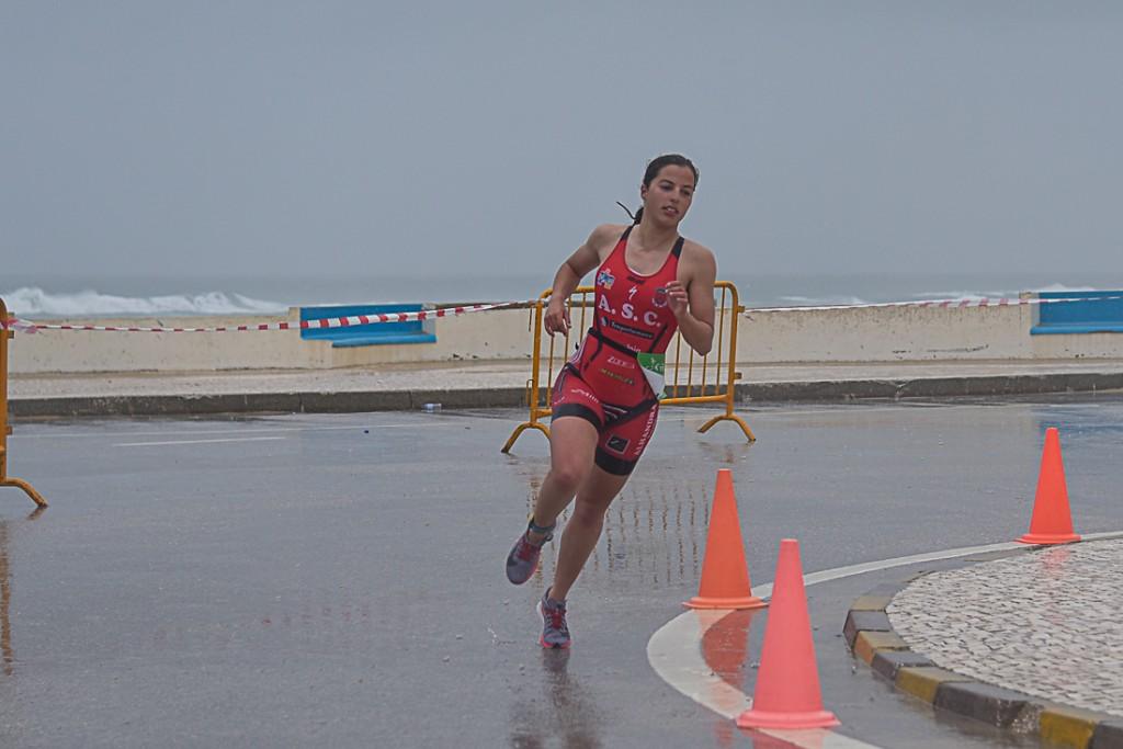 Apesar do tempo, Madalena Almeida apreciou o percurso da corrida