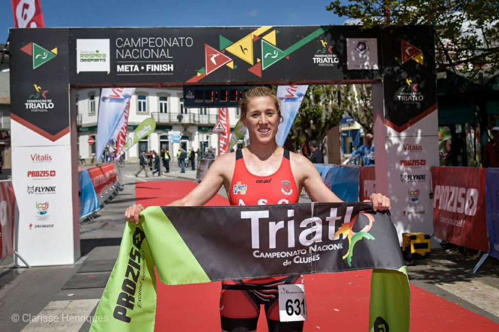 Melina Alonso, do Alhandra Sporting Clube, foi a vencedora absoluta do Triatlo do Sabugal