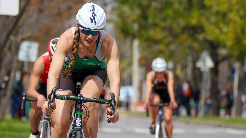 Katarina Larsson irá fazer o segundo segmento do ciclismo