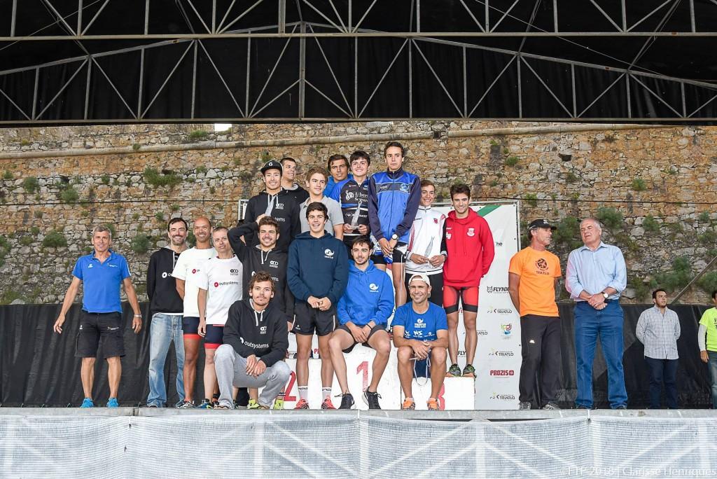 A representação do Clube de Torres Novas, Outsystems Olímpico de Oeiras e o Alhandra Sporting Club