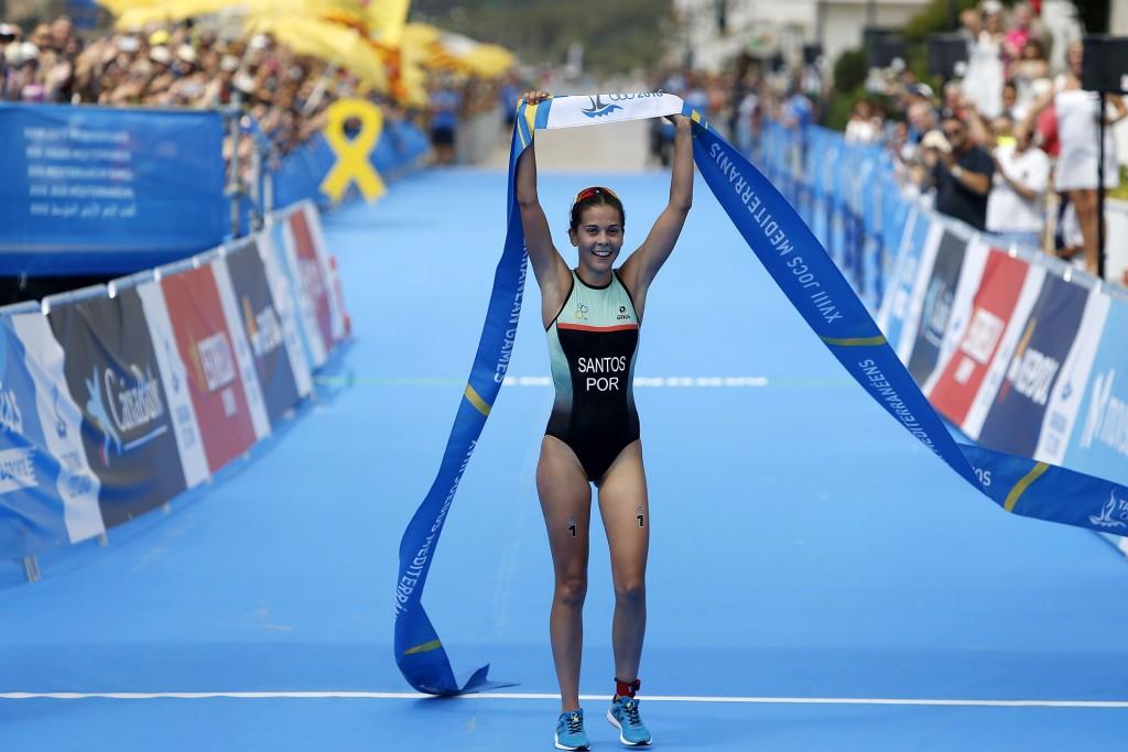 Melanie Santos medalha de ouro nos Jogos do Mediterrâneo 2018