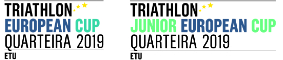 2019 Quarteira ETU Triathlon European Cup Logo