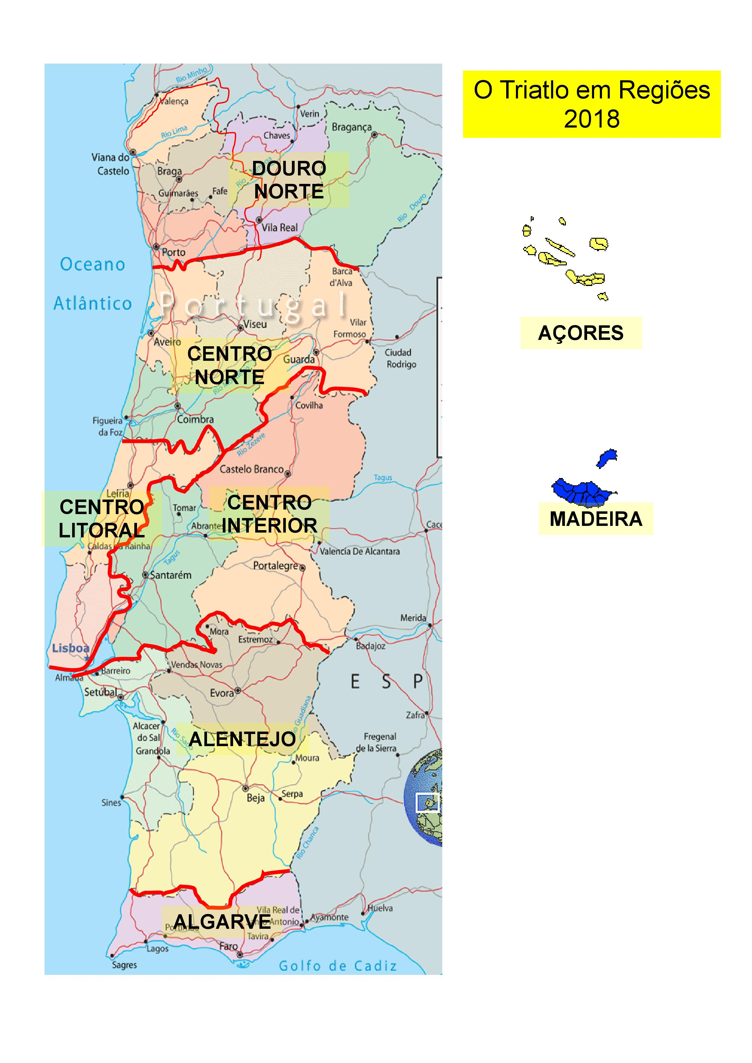 mapa de portugal tabuaço Bem vindo à Federação de Triatlo de Portugal | Entidade Oficial mapa de portugal tabuaço