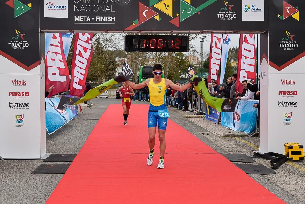 João Ferreira, GD Estoril praia, foi o vencedor absoluto masculino