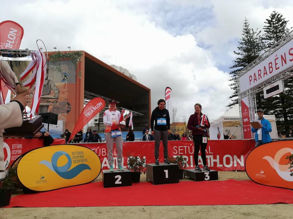Ana Filipa Santos, Rio Maior Triatlo, venceu o Setúbal Triathlon; Olga Kowalska (Trinergy Team) subiu ao segundo lugar do pódio com 04:54:30 e a terceira classificada foi Abigail Brooks Santana