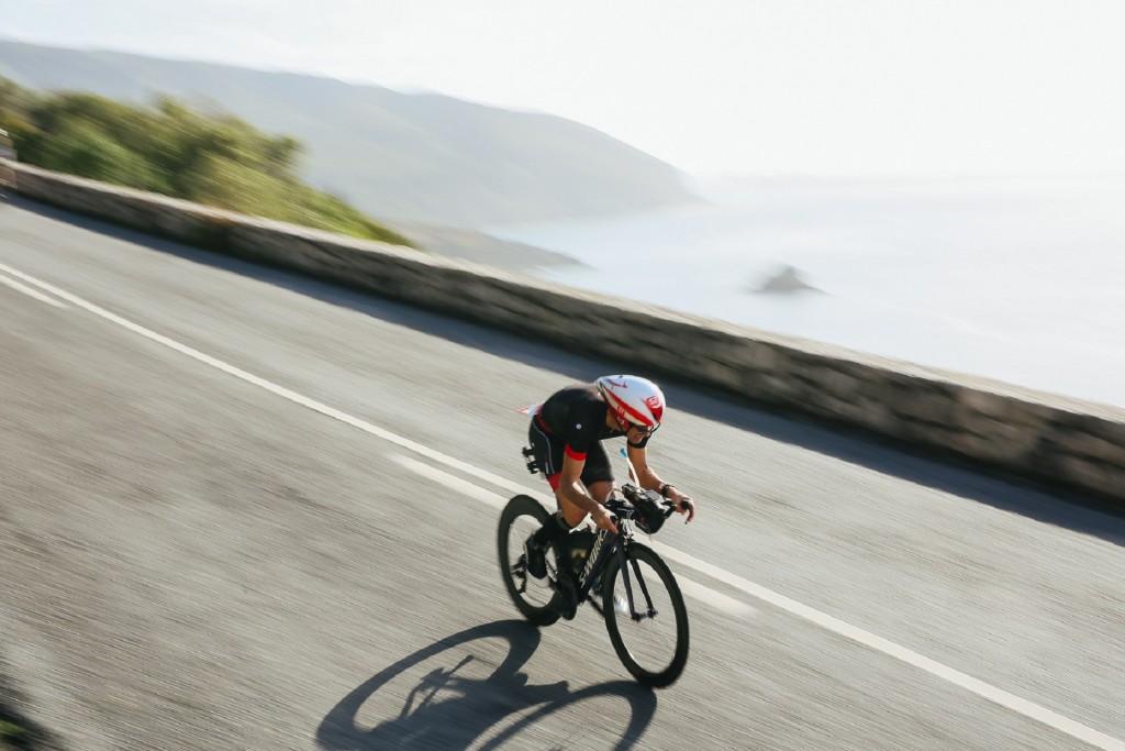 O percurso de ciclismo é desafiante e sobe à serra da Arrábida
