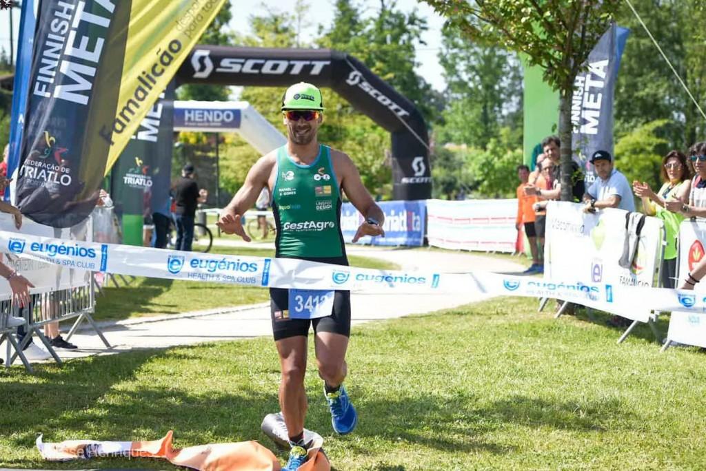Rui Dolores, especialista em triatlo cross, venceu o Campeonato de Duatlo