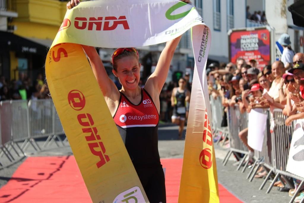 Andreia Ferrum foi a vencedora da edição anterior do Triatlo de Peniche