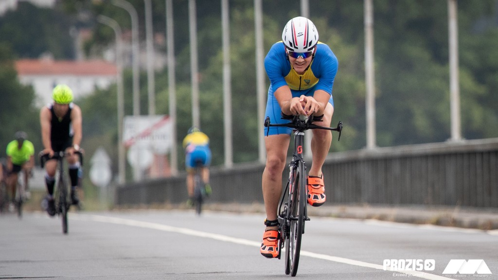 Foi no ciclismo que João Ferreira ganhou vantagem, isolando-se em relação ao grupo
