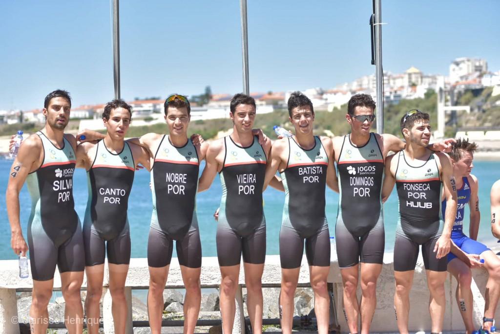 Com 10 atletas nacionais em prova, Portugal conseguiu um top 10 entre os triatletas portugueses