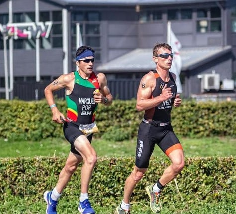 Ironman diskwalificeert age group wereldkampioen (en pro-atleet) Marques