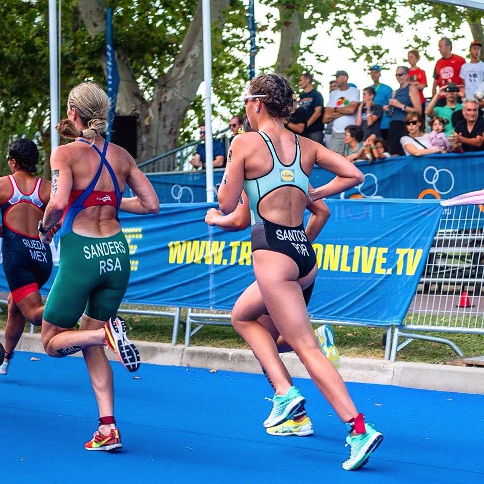 Melanie Santos já recuperada da lesão está pouco a pouco a voltar ao seu nível competitivo