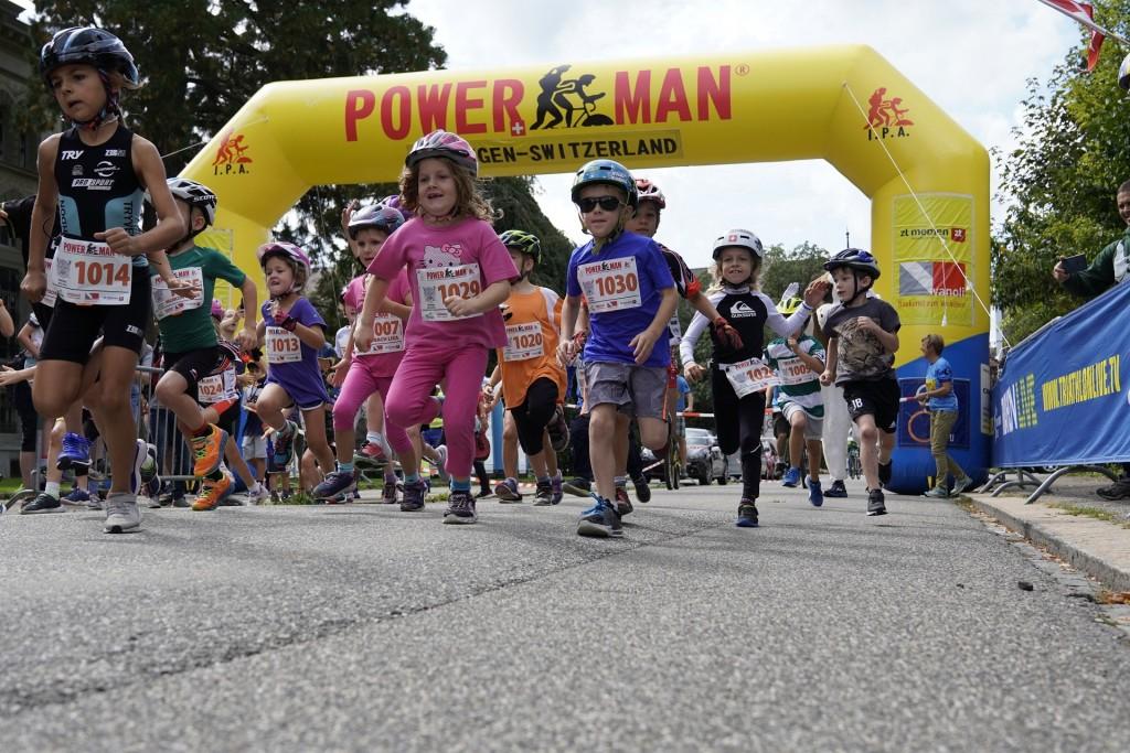 O Powerkids é um evento muito popular direcionado aos jovens atletas