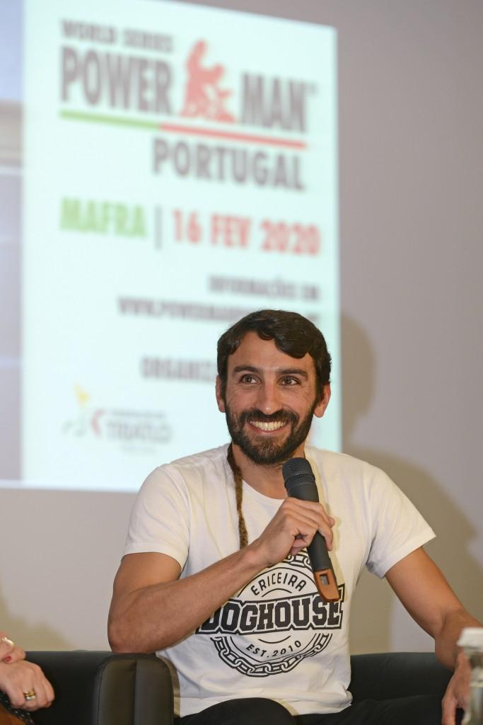 José Estrangeiro treina habitualmente no percurso onde vai ser o Powerman Portugal