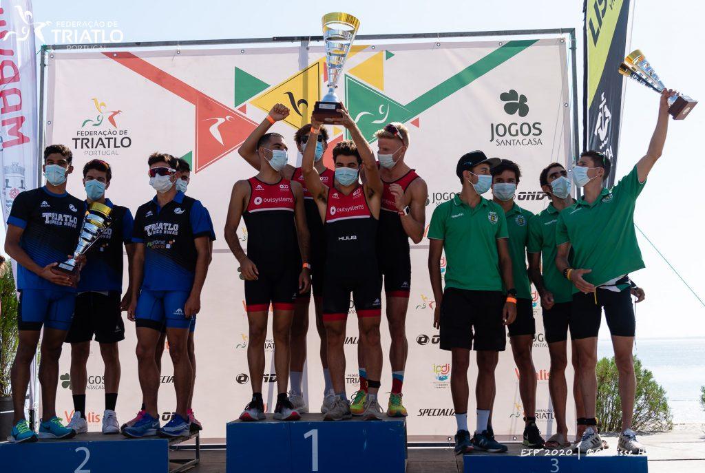 Em Lisboa, a vitória foi para o Olímpico, na segunda posição ficou o Torres Novas, com o Sporting Clube de Portugal a subir ao terceiro lugar do pódio