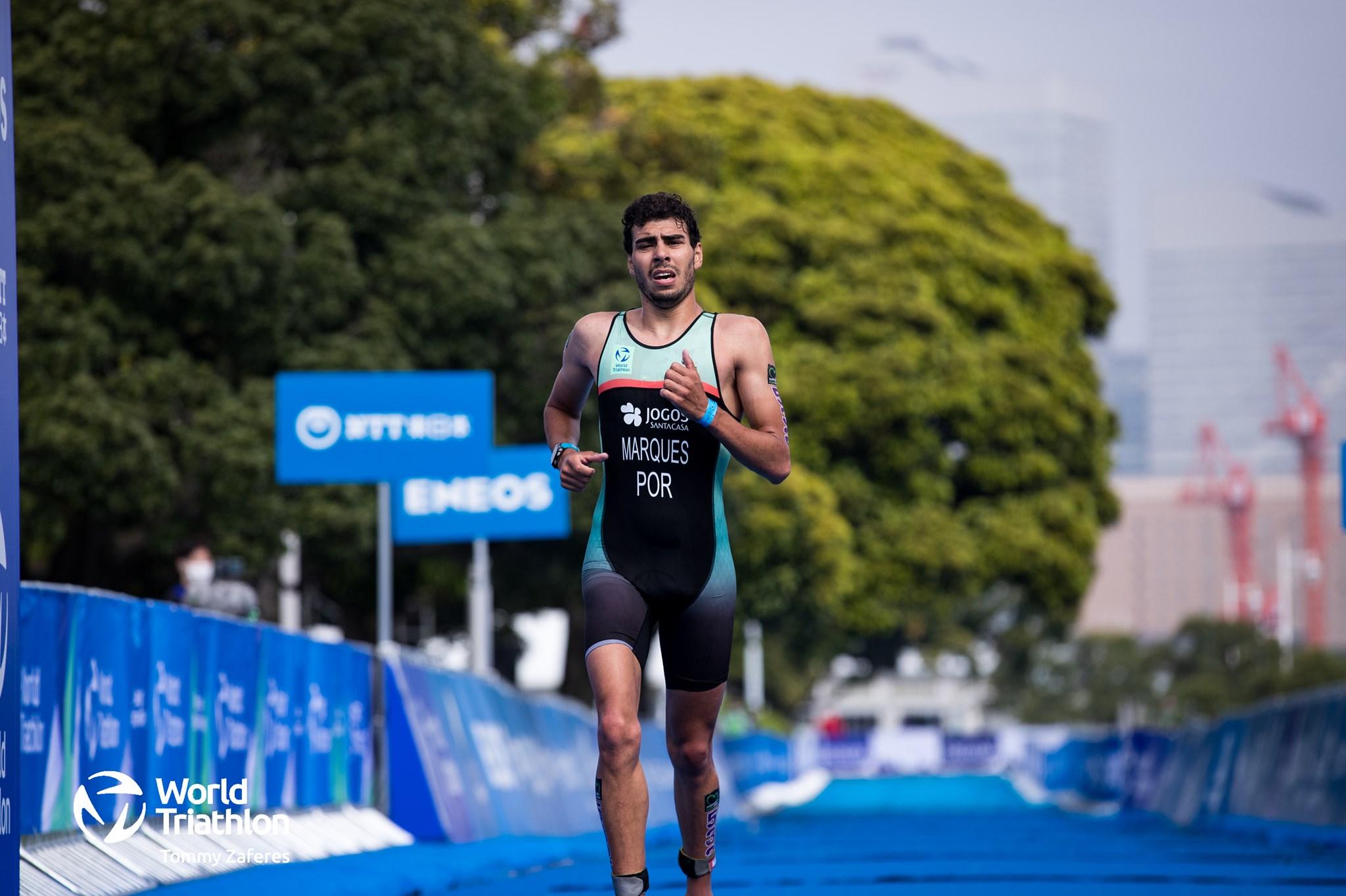 Filipe Marques conquista o bronze no Campeonato Europa de Paratriatlo 2021