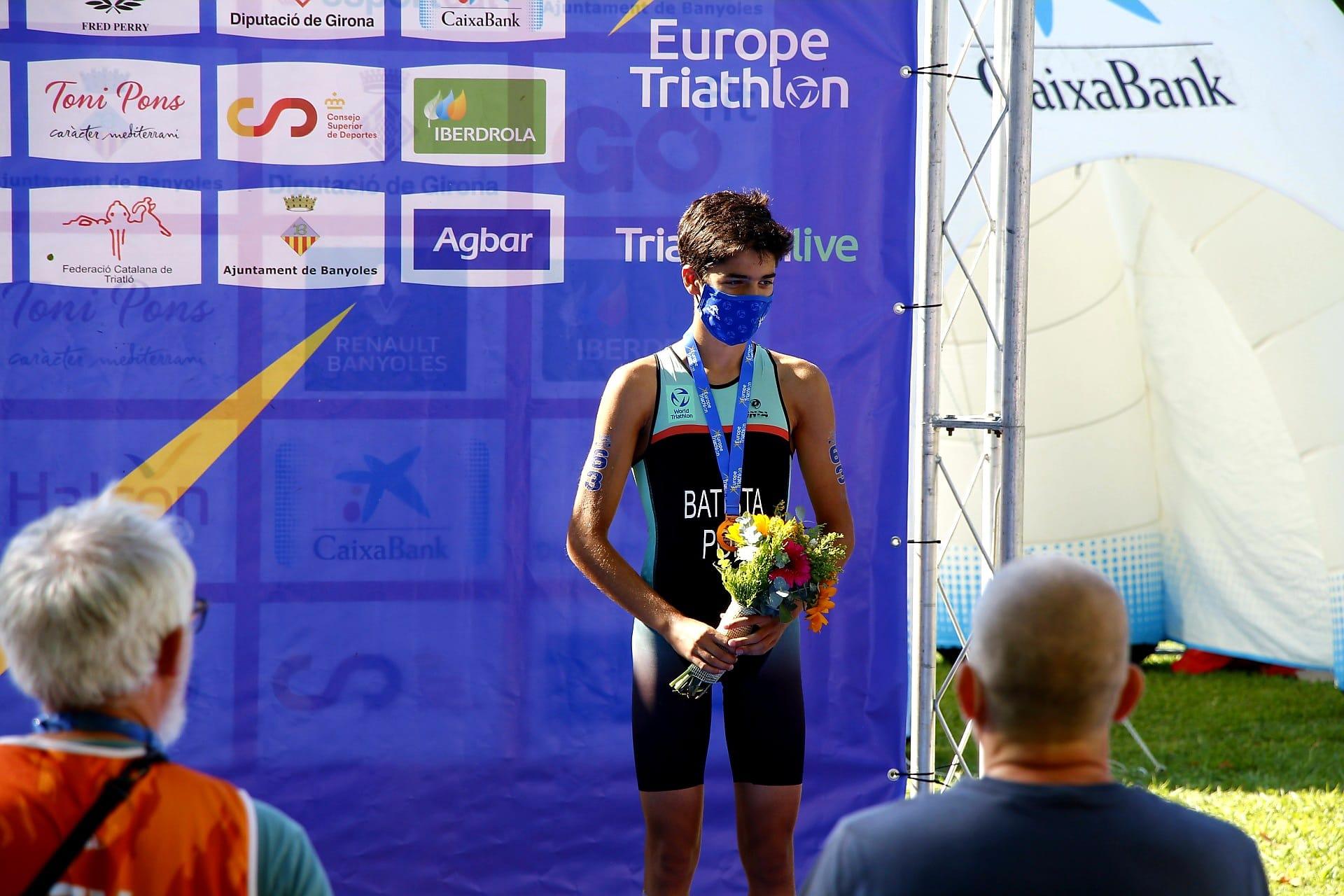 Bronze para João Nuno Batista na Taça da Europa de Juniores Banyoles, Espanha