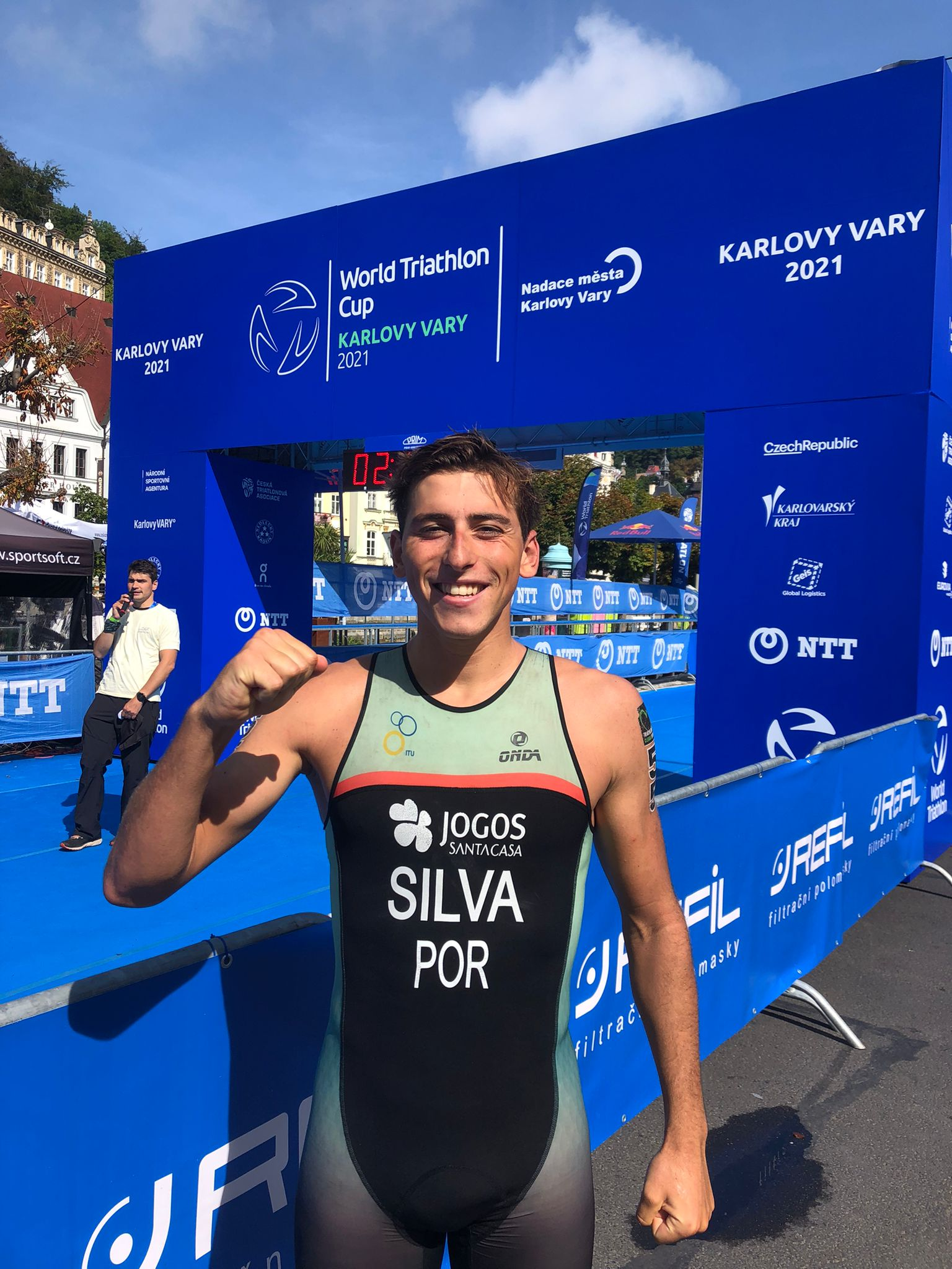 10.º lugar para Miguel Tiago Silva na Taça do Mundo de Triatlo em Karlovy Vary 2021